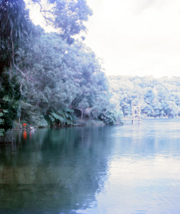 Lake Eacham, in the Atherton Tablelands, Queensland