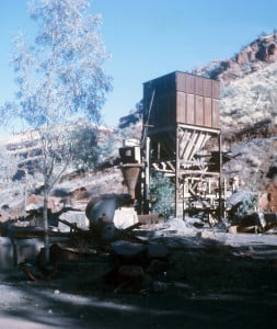 An old asbestos mine in Wittenoom Gorge, Western Australia