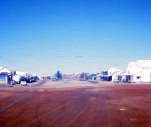 The main street of Broome, Western Australia. The town is famous for its pearls.