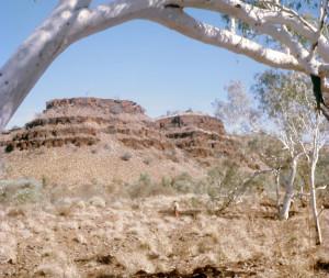 A scene in Yampire Gorge near Wittenoom, Western Australia