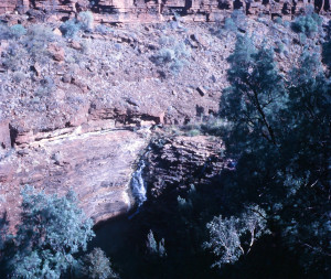 Fortescue Falls in Dales Gorge, Western Australia