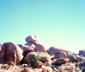 The Devil's Marbles near Wauchope to the south of Tennant Creek in the Northern Territory